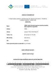 Hosting - Zadávací dokumentace (PDF, 119 kB) - CENIA, česká ...