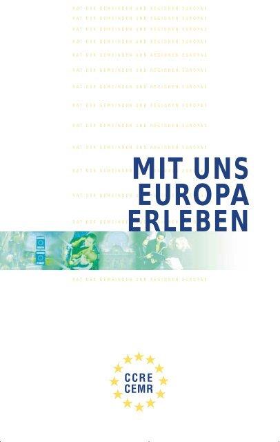mit uns europa erleben - Council of European Municipalities and ...