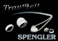 Der aktuelle Katalog → download PDF (2 MB) - Spengler