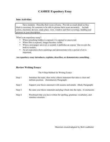expository essay on water pollution
