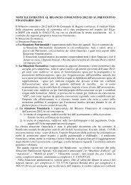 relazione amministratore - Avis Ragusa
