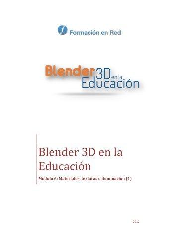 Blender 3D en la Educación