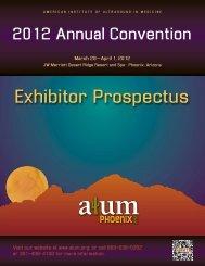 Exhibitor Prospectus - AIUM
