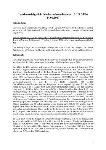 L 2 R 35-06 - rechtsanwaltskanzlei-leipzig.de