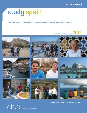 study spain - Council on International Educational Exchange