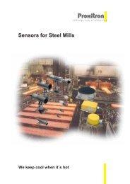 Sensors for Steel Mills - Consero Inc