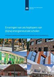 Kennis en ervaringen van zes koplopers BENG scholen