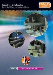 BAHCO MULTI-PURPOSE Industrial Metalsawing