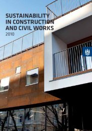 SUSTAINABILITY IN CONSTRUCTION AND CIVIL WORKS - Itera