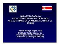 iniciativas para la reducción/eliminación de ácidos grasos trans en ...