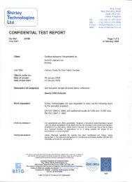 Koksdal Abrasion ISO 12947-2, Pilling ISO 12945-2