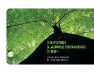 desenvolvendo salvaguardas socioambientais de redd+ - Imaflora