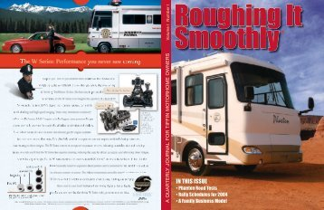 Roughing It Smoothly - Tiffin Motorhomes