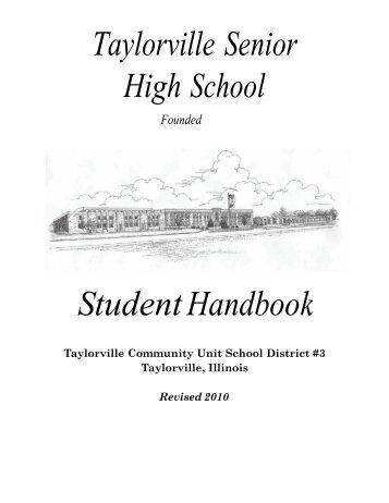 front cover - Taylorville Community Unit School District #3