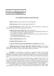 Provvedimenti emanati in materia di Culti - anno 2009 - Ssai