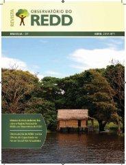 3ª Edição do Boletim - Observatório do REDD