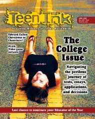 Cover Road:Cover - Teen Ink