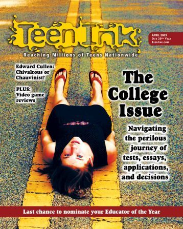 Ink Teen Ink Cover Photo 3