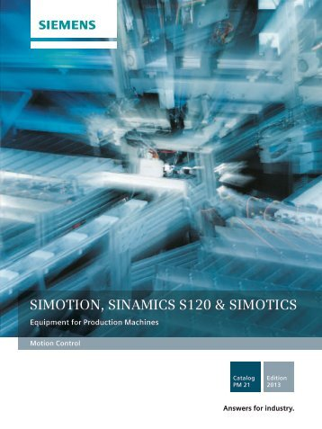 Catalog PM 21 2013 - Siemens Industry, Inc.