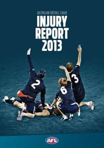 2013-AFL-Injury-Report