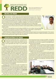 boletim edição 3.pdf - Observatório do REDD