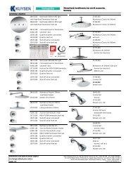 Showerhead, handshowers, bar sets & accessories ... - Kuysen