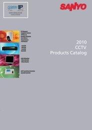 Sanyo CCTV Catalogue 2010 - Use-IP
