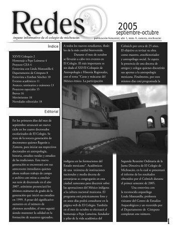 Sept Pdf - Regresar a la página principal - El Colegio de Michoacán