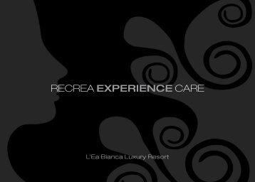RECREA EXPERIENCE CARE - SPA Sardegna