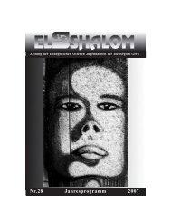 2007 28 pdf.pmd - Evangelisches Jugendhaus Shalom Gera