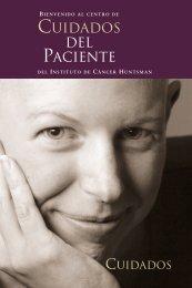 CUIDADOS DEL PACIENTE - Huntsman Cancer Institute