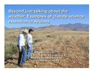 Beyond just talking about the weather: Examples of climate science ...
