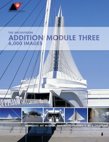 Click here to download PDF catalogue of Module Three - Archivision