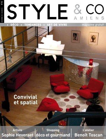 Convivial et spatial - Style & Co