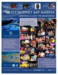 DECEmBER 2011 - IGY Rodney Bay Marina