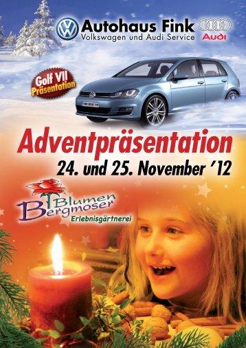 Adventpräsentation 24. und 25. November '12