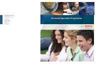 Graduate Specialist Programme eBrochure - Bosch-Career