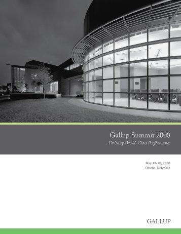 Gallup Summit 2008