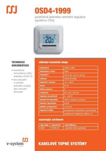 OSD4-1999 - V-System elektro