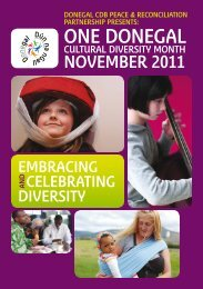 One Donegal Cultural Diversity Month Program of Events