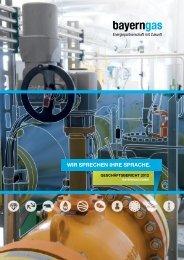 Geschäftsbericht 2012 (PDF) - Bayerngas GmbH