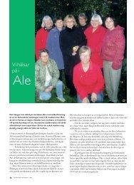 36 Vi hälsar på i Ale - Välkommen till Reumatikertidningens arkiv
