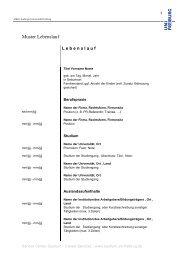 Muster_Lebenslauf 3.pdf - Albert-Ludwigs-Universität Freiburg