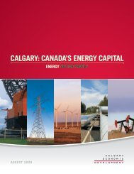 canada's energy capital - Calgary Economic Development