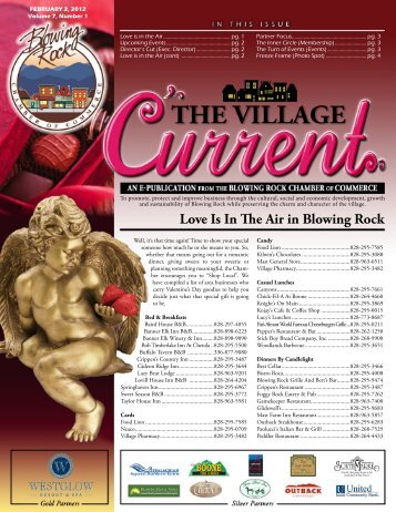 February 2 , 2012 - Blowing Rock Chamber of Commerce
