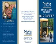Bus Safety (primary-elementary students)