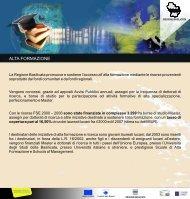scarica la scheda in formato pdf - Regione Basilicata