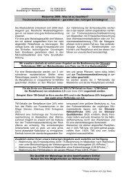 Maisernte 2009– Was ist zu beachten? - Landeskontrollverband ...