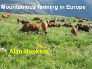 Mountainous farming in Europe - European Grassland Federation ...