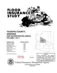 YAVAPAI COUNTY, ARIZONA Federal Emergency ... - FEMA Region 9